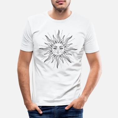 Sun Here Comes The Sun. - Men's Slim Fit T-Shirt