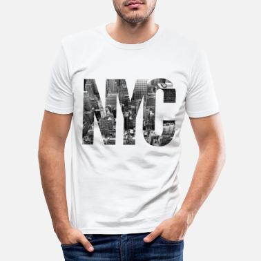 New York NYC - T-shirt moulant Homme