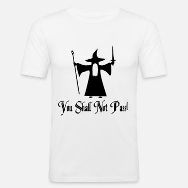 43514c0d You Shall Not Pass Design Männer T-Shirt | Spreadshirt