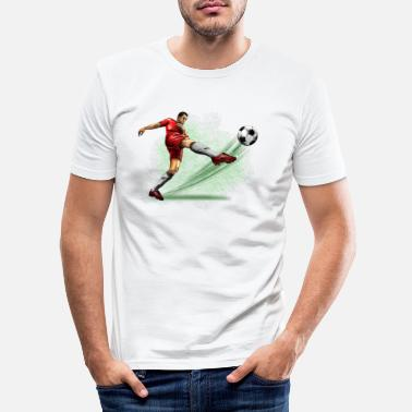 Soccer Player soccer player - Mannen slim fit T-shirt