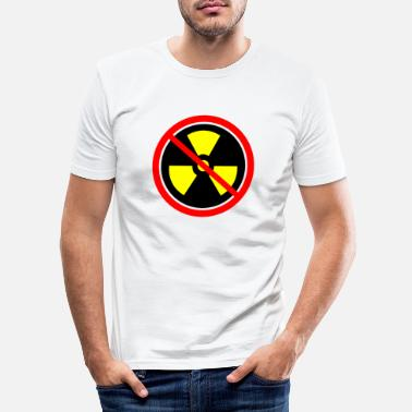 Castor Transport Anti nuclear power Nuclear power stations Nuclear energy Atomic energy - Men's Slim Fit T-Shirt