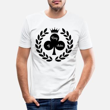 Clubs king of clubs - Men's Slim Fit T-Shirt