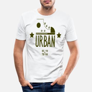Urban Urban - Männer Slim Fit T-Shirt