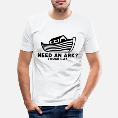Ark Noah's Ark - Mannen slim fit T-shirt