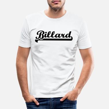 Billards Billard - Men's Slim Fit T-Shirt