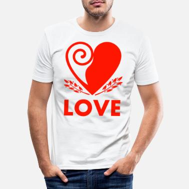 Love - Men's Slim Fit T-Shirt