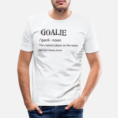 gardien de but - T-shirt moulant Homme