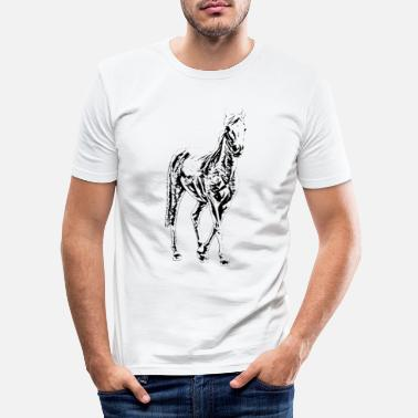 Stallion stallion - Men's Slim Fit T-Shirt