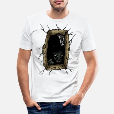 Tombe tomb - T-shirt moulant Homme