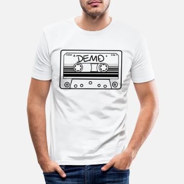 Demo Cassette demo - Men's Slim Fit T-Shirt