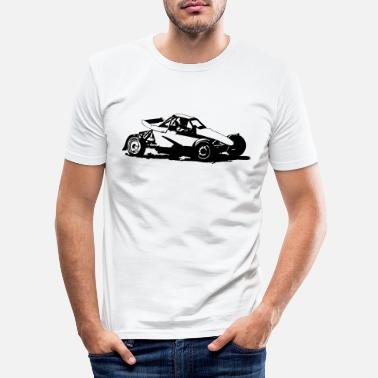 Autocross Autocross - Slim fit T-skjorte for menn