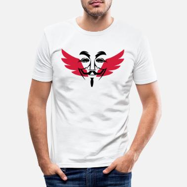 Anonymous Anonymous - Mannen slim fit T-shirt