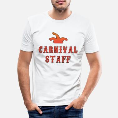 Staff Carnivall Staff - T-shirt slim fit herr