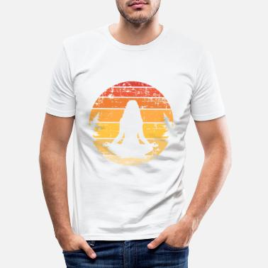 Meditation meditation - Slim fit T-shirt mænd