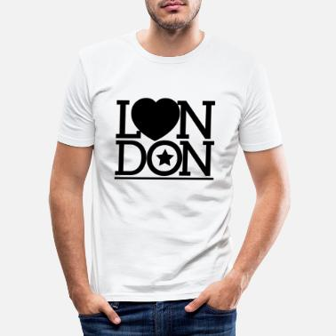 London London London London - Männer Slim Fit T-Shirt