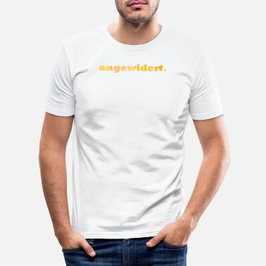 Disgusting disgusted. - Men's Slim Fit T-Shirt