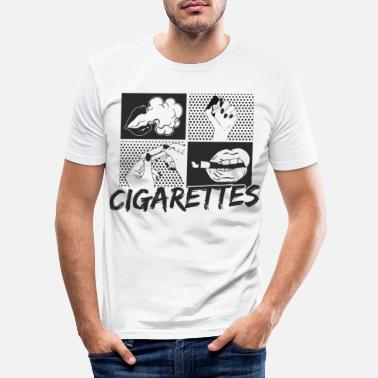 5a94e3e0 Shop Smog Slim Fit T-Shirts online | Spreadshirt