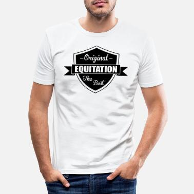 Equitation Equitation - Men's Slim Fit T-Shirt