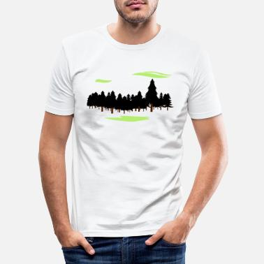 Forest Forest Forest - Men's Slim Fit T-Shirt