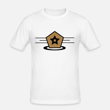 Logo Logo - Männer Slim Fit T-Shirt