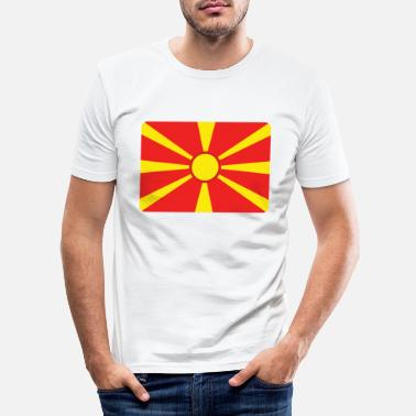 Macedonia MACEDONIA! - Men's Slim Fit T-Shirt