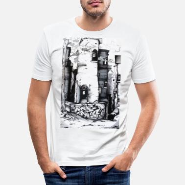 Art Graffiti street art - Men's Slim Fit T-Shirt