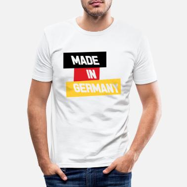 Schland Made in Germany - Men's Slim Fit T-Shirt