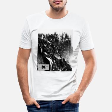 Wind WIND WILD - T-shirt slim fit herr