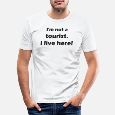 Tourist tourist - Men's Slim Fit T-Shirt