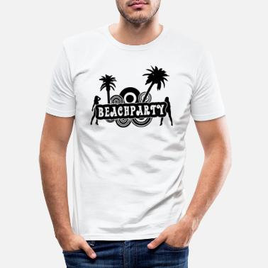 Beachparty beachparty_2017 - Männer Slim Fit T-Shirt