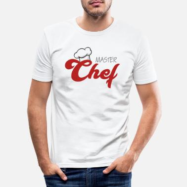Master Chef / Chef Cook: Master Chef - Men's Slim Fit T-Shirt
