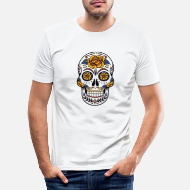 Day Of The Dead Day of the Dead - T-shirt slim fit herr