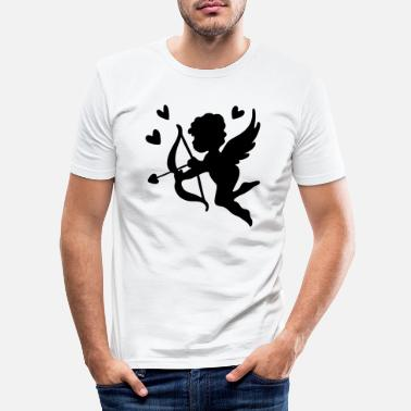 Cupid Cupid - Männer Slim Fit T-Shirt
