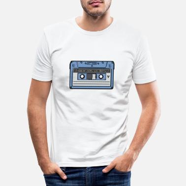 Cassette Cassette Retro cassette - Men's Slim Fit T-Shirt