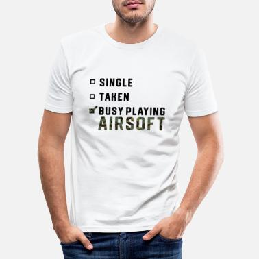 Gas Enkelt forhold Airsoft Airsoft BBs Gift - Slim fit T-shirt mænd