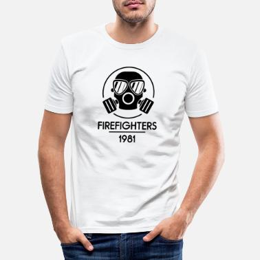 Week-end pompiers 1981 - T-shirt moulant Homme