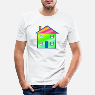 House House - T-shirt moulant Homme