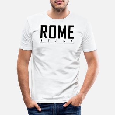 Italy ROME ITALY - Men's Slim Fit T-Shirt