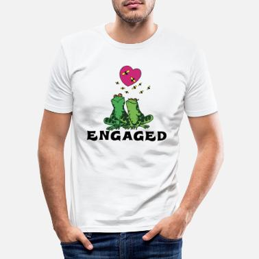 Engagement Engaged - Men's Slim Fit T-Shirt