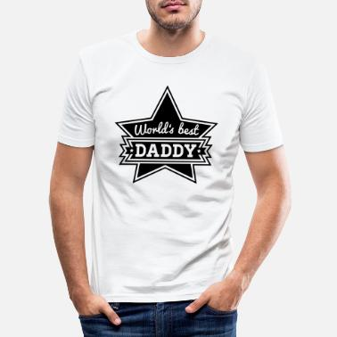 Daddy worlds_best_daddy_f1 - T-shirt moulant Homme