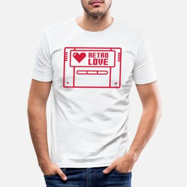 Console Retro Love (Cartridge) 03 - Men's Slim Fit T-Shirt