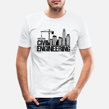 Ingeniero Civil Ingeniero civil - Camiseta ajustada hombre