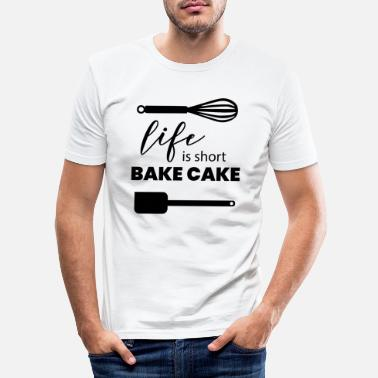 Kuchen Kuchen Backen - Männer Slim Fit T-Shirt