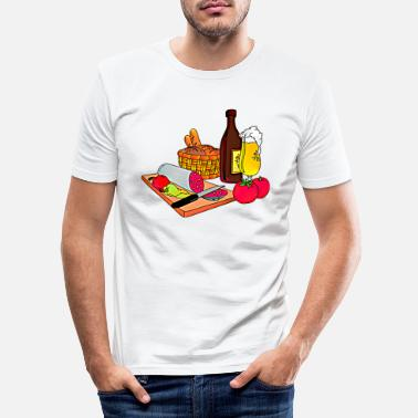 Snack snack - Men's Slim Fit T-Shirt