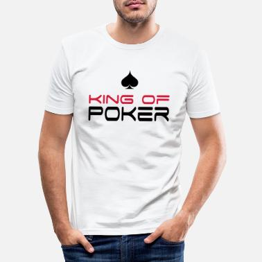Poker Kläder poker - T-shirt slim fit herr