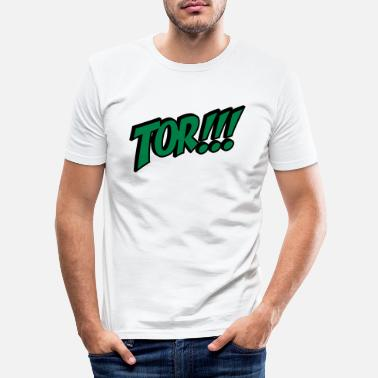 Tor Tor - Männer Slim Fit T-Shirt