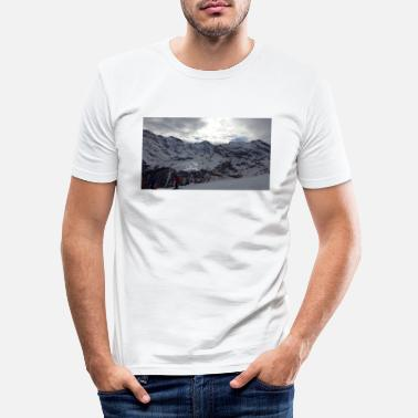Alpes Alpes - T-shirt moulant Homme