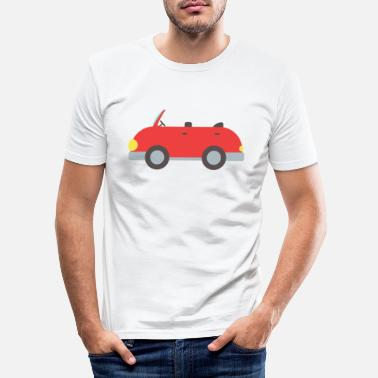 Convertible convertible - Men's Slim Fit T-Shirt