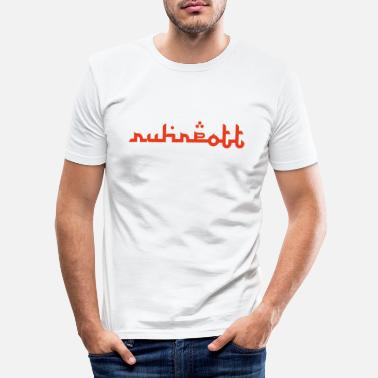 International Ruhrtpott International! - Slim fit T-skjorte for menn