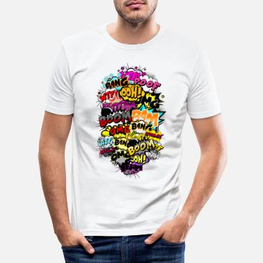 Comic Style Comic style - Men's Slim Fit T-Shirt